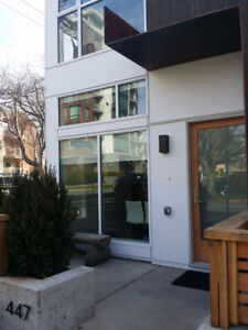 Open airy 3BR Town Home James Bay Furnished