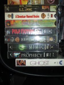 Assorted Titles - VHS