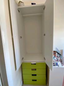 Ikea Stuva Wardrobe White