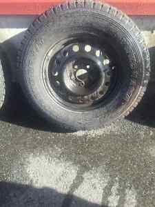 Rims and Tires - Kia Sorento