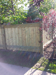 It's Fence and Deck Season!!