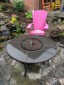 Beauty table top fire pit!