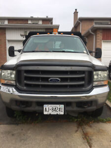 Used 2004 Ford F-550 Super Duty Dump Truck