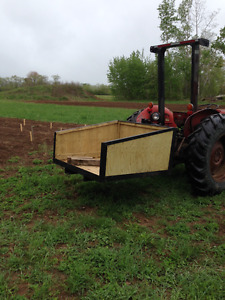 3 POINT HITCH CARRIER FOR TRACTOR