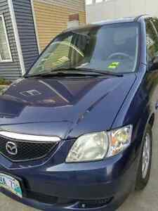 *** Safetied, Well Maintained, Low Kilometer, 2002 Mazda MPV LX