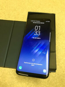 Samsung S8 Unlocked 64GB in perfect condition.
