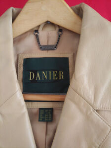 Mens XL 44-46 Daniel Leather coat, vest, Hugo Boss sports jacket