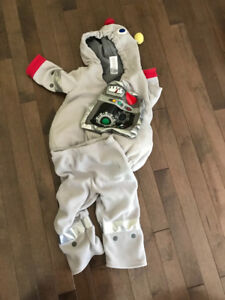 Size 12-24 months old navy robot costume