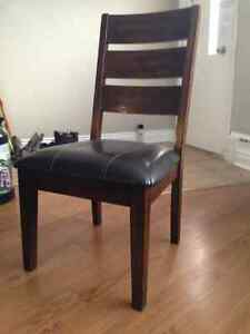 Set of 5 Ashley Furniture Dining Chairs