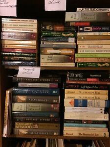 Margaret Atwood collection of books