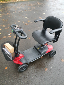 Mobility scooter folds I can deliver