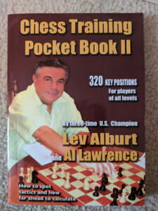 Softcover - Chess Training Pocketbook - Lev Alburt, Al Lawrence
