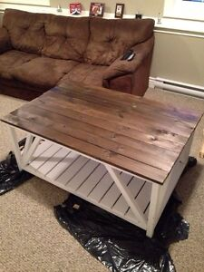 Newly built coffee tables for sale