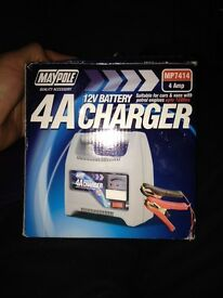 12v battery A4 charger £5