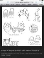 Wanted-  Stampin Up Baby We've Grown