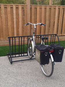 Traditional 10Slot DoubleSided Bike Rack Brand New Powdercoated Sarnia Sarnia Area image 1