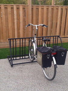 Traditional 10Slot DoubleSided Bike Rack Brand New Powdercoated