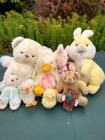 Toys - kids' soft toy bundle