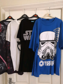 4 x Star Wars T Shirts