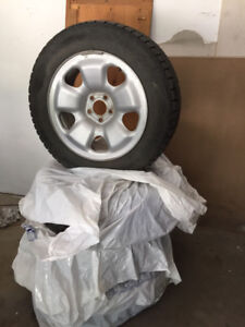Winter Tires (used for 1 season)
