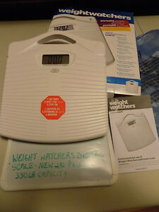 CONAIR WEIGHT WATCHERS PORTABLE PRECISION ELECTRONIC SCALE