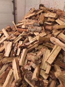 Quality Seasoned Birch Firewood  $35 per 100lb bag