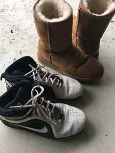 Authentic Ugg and Bball Nike