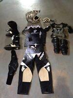 Équipement de motocross junior