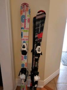 Techno Pro Kids Skis - 100cm and 110cm