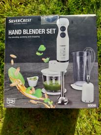 HAND BLENDER SET brand new in box