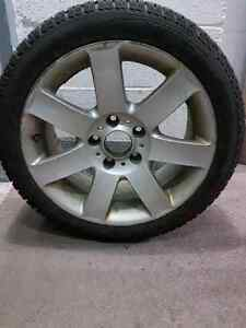 PIRELLI WINTER TIRES WITH MAGS FOR BMW e46 series 3 West Island Greater Montréal image 1