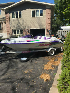Seadoo speedster 1995 twin rotax OPEN TO TRADES