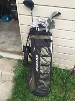 Dunlop Golf Clubs and Bag