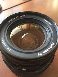 Lentille Zenza Bronica Zenzanon-PS 65mm f/4