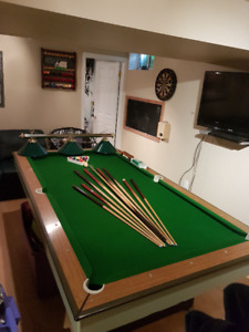 Pool Table with all extras