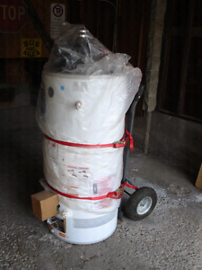 GE 50 gallon power vent water heater