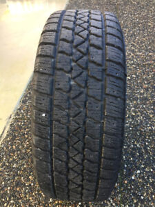 Set of Arctic Claw snow tires with rims: 205/55R 16