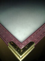 """New 3 Page Restauant Clear Menu Covers. 12"""" x 8.5"""""""