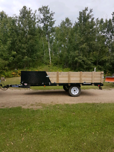 2013 2 place sled/quad trailer