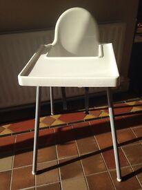 IKEA high chair highchair