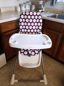 High chair used at grandparents house
