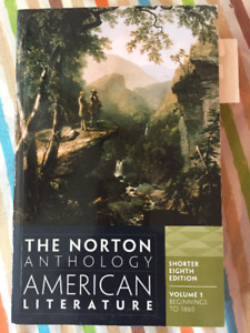 The Norton Anthology of American Literature, Vol. 1 & 2