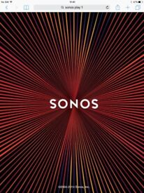 Sonos play 1 and stand
