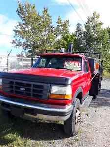 4x4 working truck