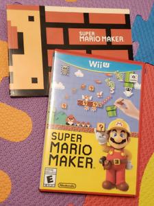 Super Mario Maker WIIU Brand New Spryfield  $35