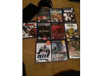 Slim Sony ps2 games console