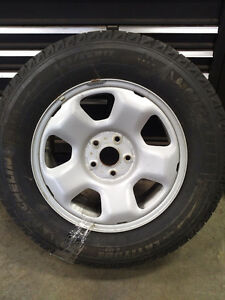 Honda Pilot factory winter tire package (like new)