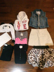 GIRLS LOT SIZE 7/8