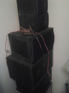 RCA 500W Home Theater System w/ 5+ large speakers + subwoofers.