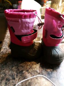 Baby girl Columbia boots